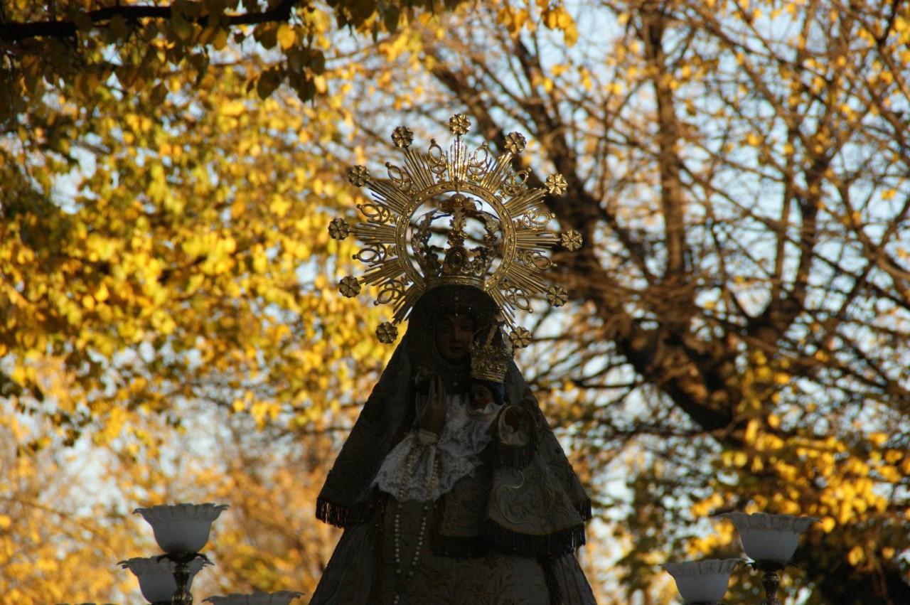 Subida por Camino de La Virgen