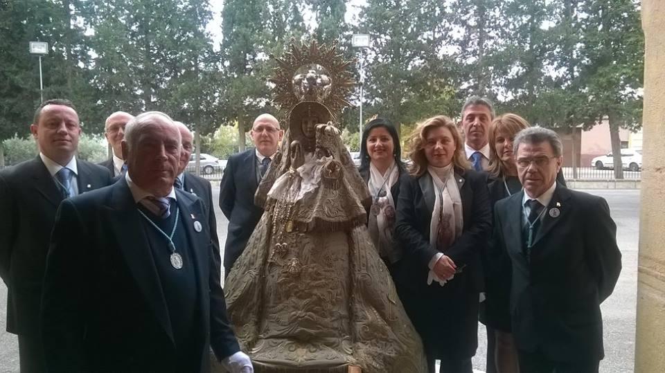 Entrada de la Virgen del 14 de Diciembre de 2014